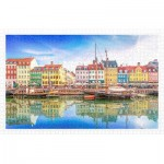Puzzle en Plastique - Old Nyhavn Port in Copenhagen