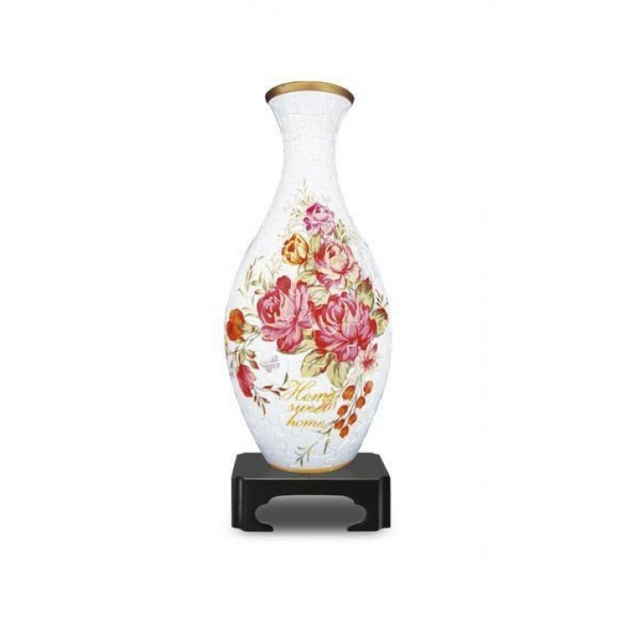 Puzzle 3D Vase - Home Sweet Home