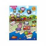 Pintoo-T1008 Puzzle en Plastique - Animal Kingdom