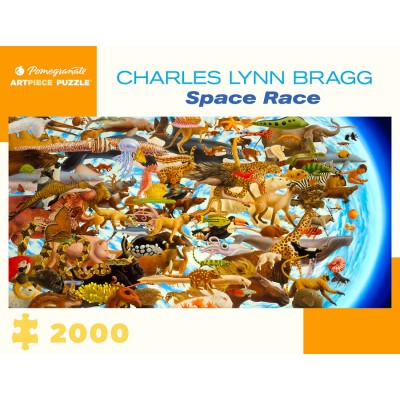 Puzzle Pomegranate-AA1079 Charles Lynn Bragg - Space Race