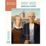 Puzzle  Pomegranate-AA1081 Grant Wood - American Gothic
