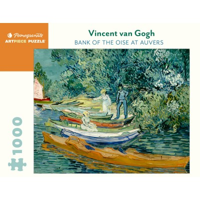 Puzzle Pomegranate-AA1083 Vincent van Gogh - Bank of the Oise at Auvers