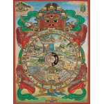 Puzzle  Pomegranate-AA553 Thangka