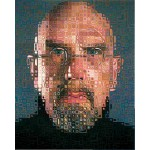 Puzzle  Pomegranate-AA673 Chuck Close : Autoportrait