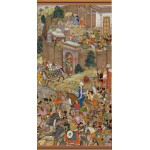 Puzzle  Pomegranate-AA816 Surdas Gujarati : Babur Setting Out from Kabul