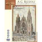 Puzzle  Pomegranate-AA873 A. G. Rizzoli - Mother Symbolically Represented / The Kathredal, 1935