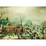 Puzzle  PuzzelMan-394 Collection Rijksmuseum Amsterdam - Hendrick Avercamp : Hiver