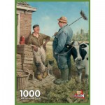 Puzzle  PuzzelMan-708 Marius van Dokkum : Discussion sur le temps