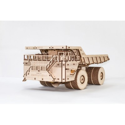 Eco-Wood-Art-56 Puzzle 3D en Bois - Belaz 75710
