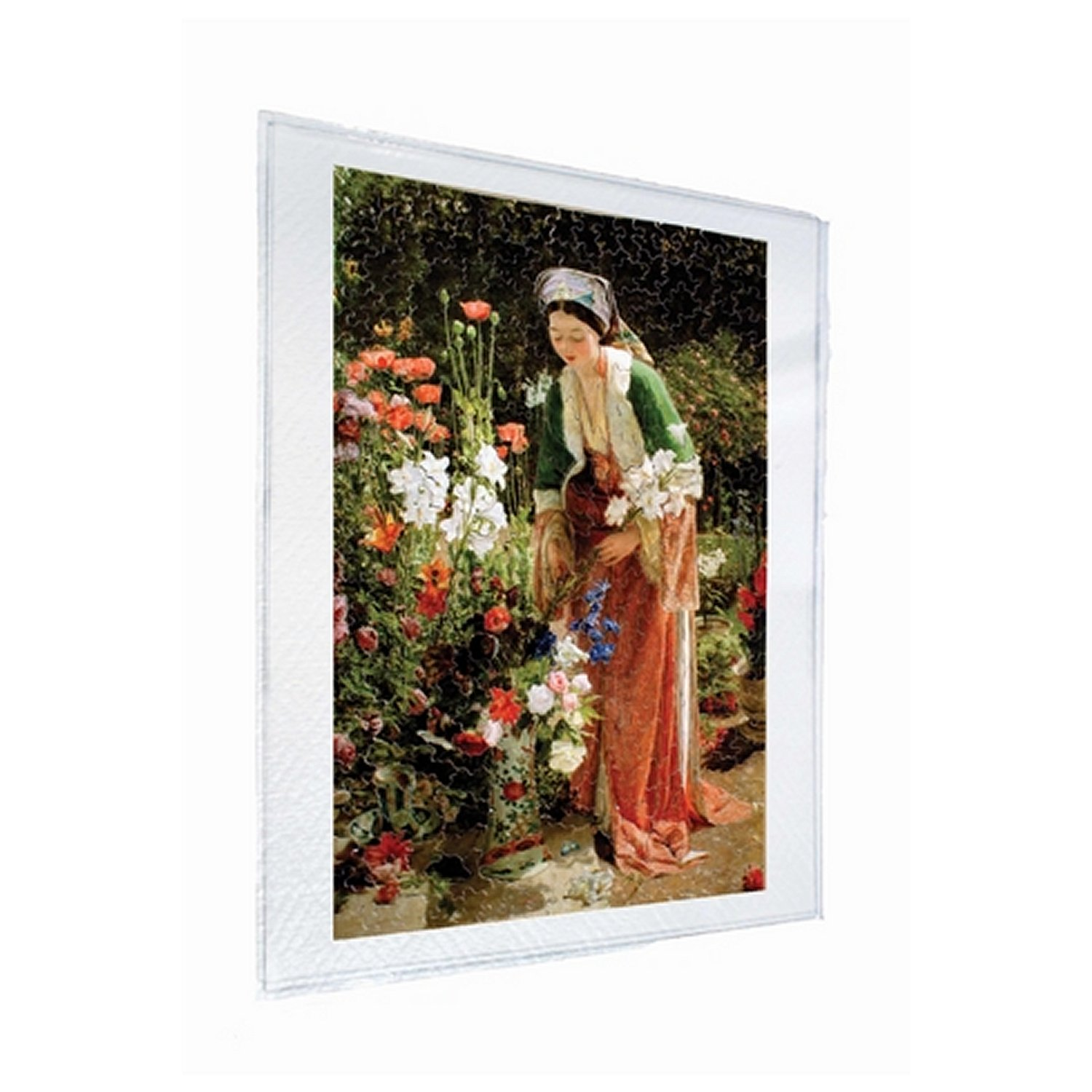 Cadre mural 20 x 20 cm puzzle michele wilson g30 for Cadre mural plantes