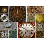 Puzzle en Bois - Collage - Horloges