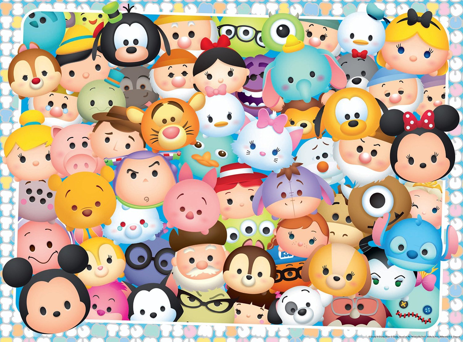 Ravensburger Disney Tsum Tsum Puzzle 100 Pieces p51611 on disney computer themes