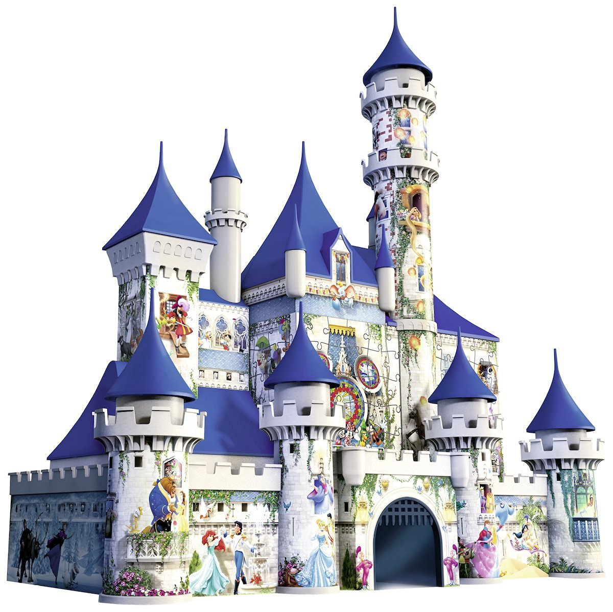 puzzle 3d ch teau de disney ravensburger 12587 216 pi ces puzzles ch teaux et palaces. Black Bedroom Furniture Sets. Home Design Ideas