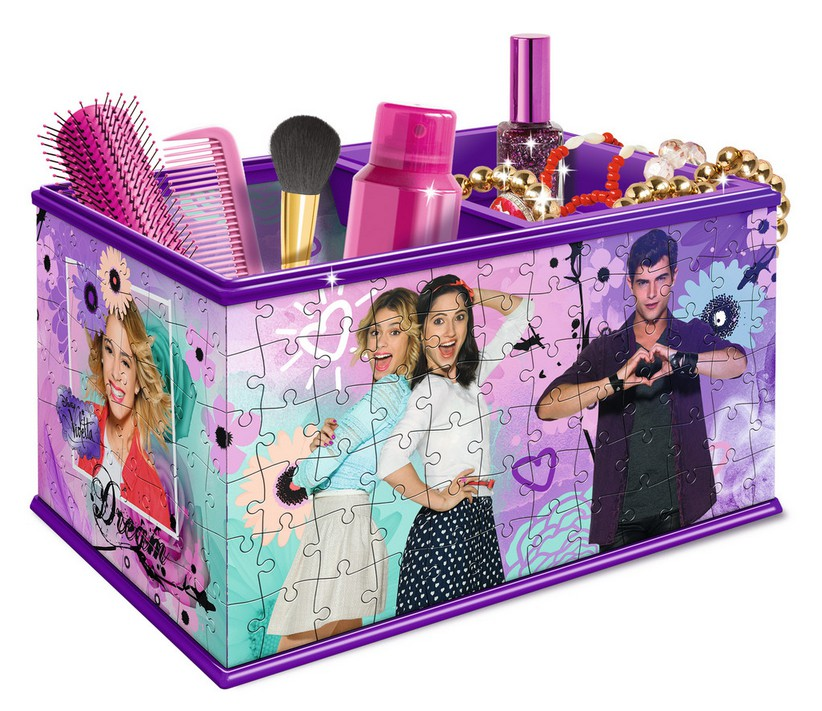 puzzle 3d girly girls edition coffret violetta ravensburger 12091 216 pi ces puzzles. Black Bedroom Furniture Sets. Home Design Ideas