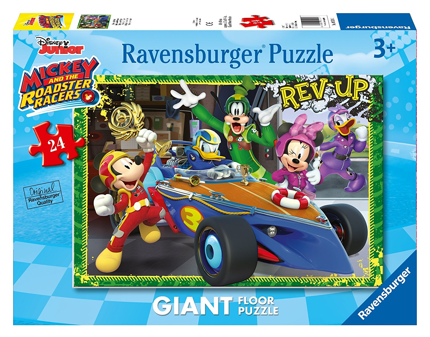 puzzle g ant de sol mickey ravensburger 05524 24 pi ces puzzles mickey et minnie planet. Black Bedroom Furniture Sets. Home Design Ideas