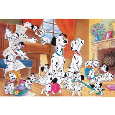 puzzle g ant les 101 dalmatiens ravensburger 05351 24 pi ces puzzles autres disney planet. Black Bedroom Furniture Sets. Home Design Ideas