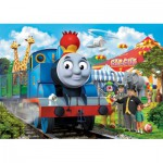 Ravensburger-05387 Puzzle Géant de Sol - Thomas le Train