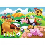 Ravensburger-05609 My First Outdoor Puzzles - Animaux de la Ferme