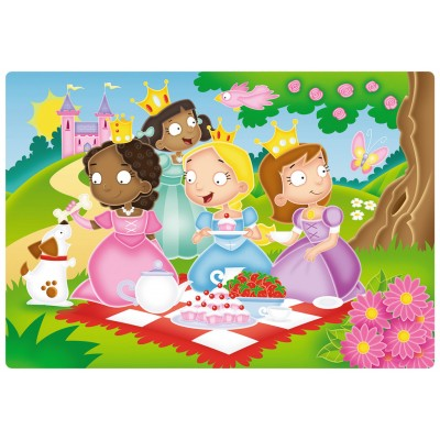 Ravensburger-05612 My First Outdoor Puzzles - Douces Princesses