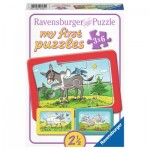 Ravensburger-06134 My First Puzzle - Animaux de la Ferme