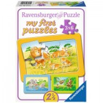 Ravensburger-06574 3 Puzzles - My First Puzzle - Animaux Sauvage