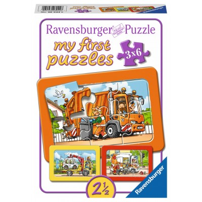 Ravensburger-06944 My First Puzzle - Véhicules