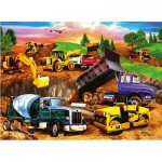 Puzzle  Ravensburger-09525 Chantier de construction
