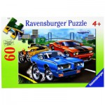 Puzzle  Ravensburger-09591 Muscle Car