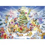 Puzzle  Ravensburger-10545 Pièces XXL - Disney Christmas Magic