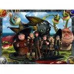 Puzzle  Ravensburger-10549 Dragons