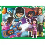 Puzzle  Ravensburger-10924 Pièces XXL - Disney Junior: Miles from Tomorrowland
