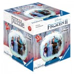 Ravensburger-11182-04 Puzzle Ball 3D - La Reine des Neiges II