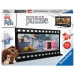 Ravensburger-11212 Puzzle 3D - The Secret Life of Pets