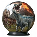 Ravensburger-11757 Puzzle-Ball 3D - Jurassic World