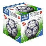 Ravensburger-11937-08 Puzzle-Ball 3D - 1998 Fifa Word Cup