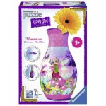 Ravensburger-12077 Puzzle 3D - Girly Girls Edition - Vase Fairy