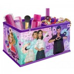 Ravensburger-12091 Puzzle 3D - Girly Girls Edition - Coffret : Violetta