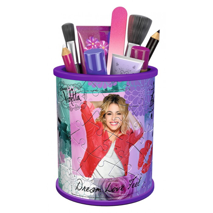 Puzzle 3D - Girly Girls Edition - Vide Poches - Violetta