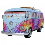 Ravensburger-12527 Puzzle 3D - Volkswagen T1 Indian Summer