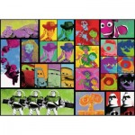 Puzzle  Ravensburger-13992 Pop Art