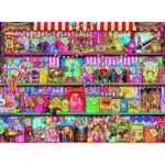 Puzzle  Ravensburger-14653 Aimee Stewart : The Sweet Shop