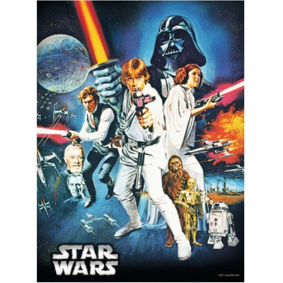 Puzzle Ravensburger-14662 Star Wars