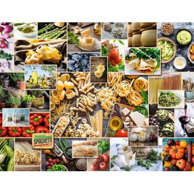 Puzzle Ravensburger-15016 Food Collage
