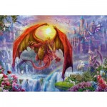 Puzzle  Ravensburger-15269 Dragon Kingdom