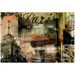 Puzzle  Ravensburger-15729 France : Paris nostalgique