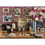 Puzzle  Ravensburger-15994 Mes Chatons