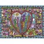 Puzzle  Ravensburger-16295 Rizzi : All that Love