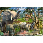 Puzzle  Ravensburger-17823 Au Point d'Eau