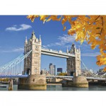 Puzzle  Ravensburger-19637 Vue sur le Tower Bridge