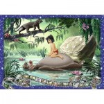 Puzzle  Ravensburger-19744 Disney - Le Livre de la Jungle